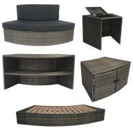 Mobilier pour spa Vita Premium (5 modules)