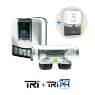 Pack électrolyseur Zodiac Tri10 + régulateur TRi pH
