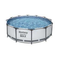 Piscine tubulaire Bestway ronde Ø 3,66 x 1,00 m Steel Pro Max