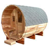 Sauna d'extérieur Gaïa Rossa