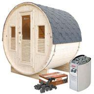 Pack sauna Gaïa Bella + poêle Harvia Vega 8 kW + pierres de lave