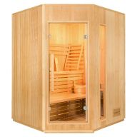 Sauna ZEN Angulaire 3 à 4 Places
