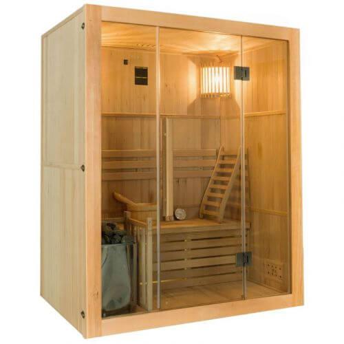 Sauna vapeur SENSE 3 places