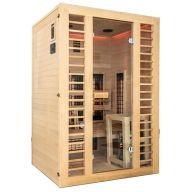 Sauna  Hybride Vénus 2 places - Full Spectrum + Vapeur