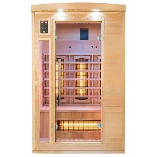 Sauna infrarouge APOLLON Quartz 2 places