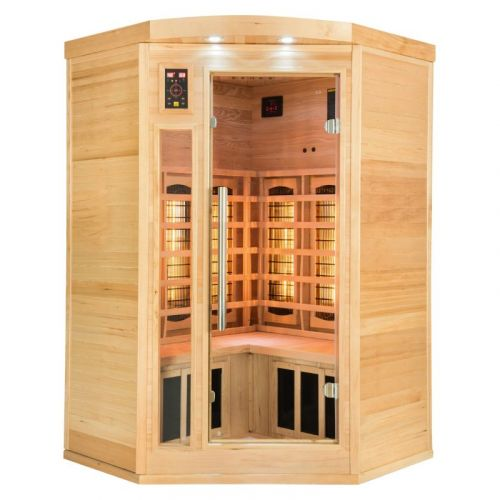 Sauna infrarouge APOLLON Quartz 2 à 3 places