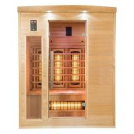 Sauna infrarouge APOLLON Quartz 3 places
