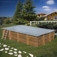 Bâche hiver piscine Sunbay Mint 1000 x 400 cm