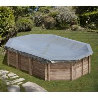 Bâche hiver piscine Sunbay Grenade 436 x 336 cm