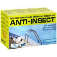 Recharge répulsif anti insectes pour piscine 6 pastilles