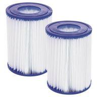 Lot de 2 cartouches de filtration Bestway Type II