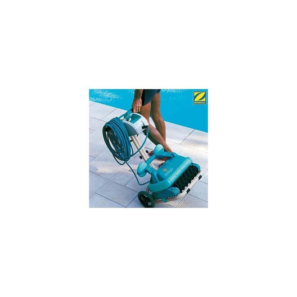 Robot de piscine lectrique fond et parois zodiac indigo mypiscine - Robot piscine electrique zodiac ...