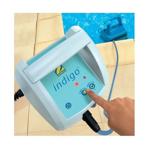 robot de piscine lectrique fond et parois zodiac indigo mypiscine. Black Bedroom Furniture Sets. Home Design Ideas