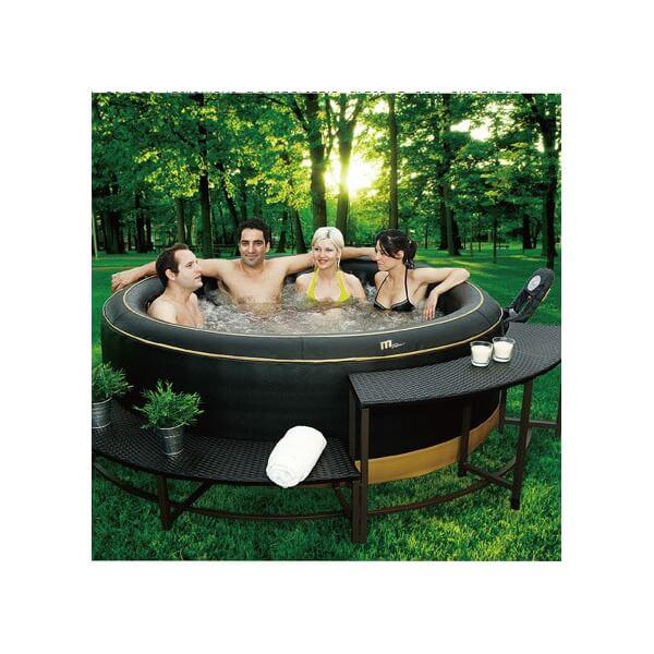 spa gonflable mspa exotic b131 4 places mypiscine. Black Bedroom Furniture Sets. Home Design Ideas