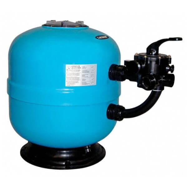 Filtre sable lacron lsr 20 10 m3 h diam 500 mm - Sable silice n 20 piscine ...