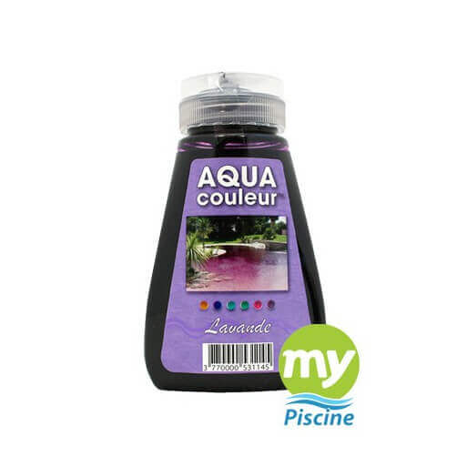 Colorant pour piscine sans danger aquacouleur lavande for Aquacouleur piscine