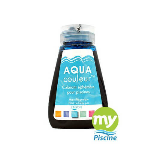 Colorant pour piscine sans danger aquacouleur lagon for Aquacouleur piscine