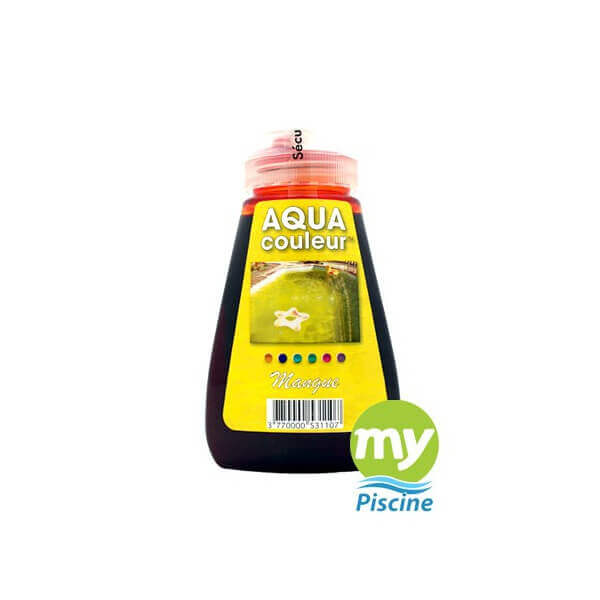 Colorant pour piscine sans danger aquacouleur mangue for Aquacouleur piscine