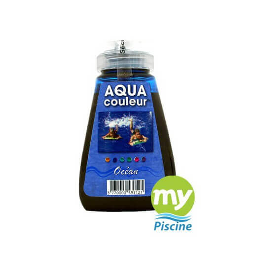 Colorant pour piscine sans danger aquacouleur grands fonds for Aquacouleur piscine
