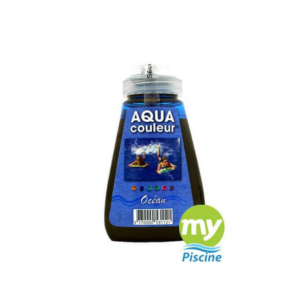 Colorant pour piscine sans danger aquacouleur grands fonds for Aquacouleur piscine