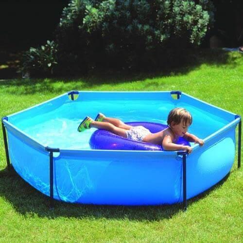 piscine hors sol gre pool junior hexagonale 215 h0 45 mypiscine. Black Bedroom Furniture Sets. Home Design Ideas