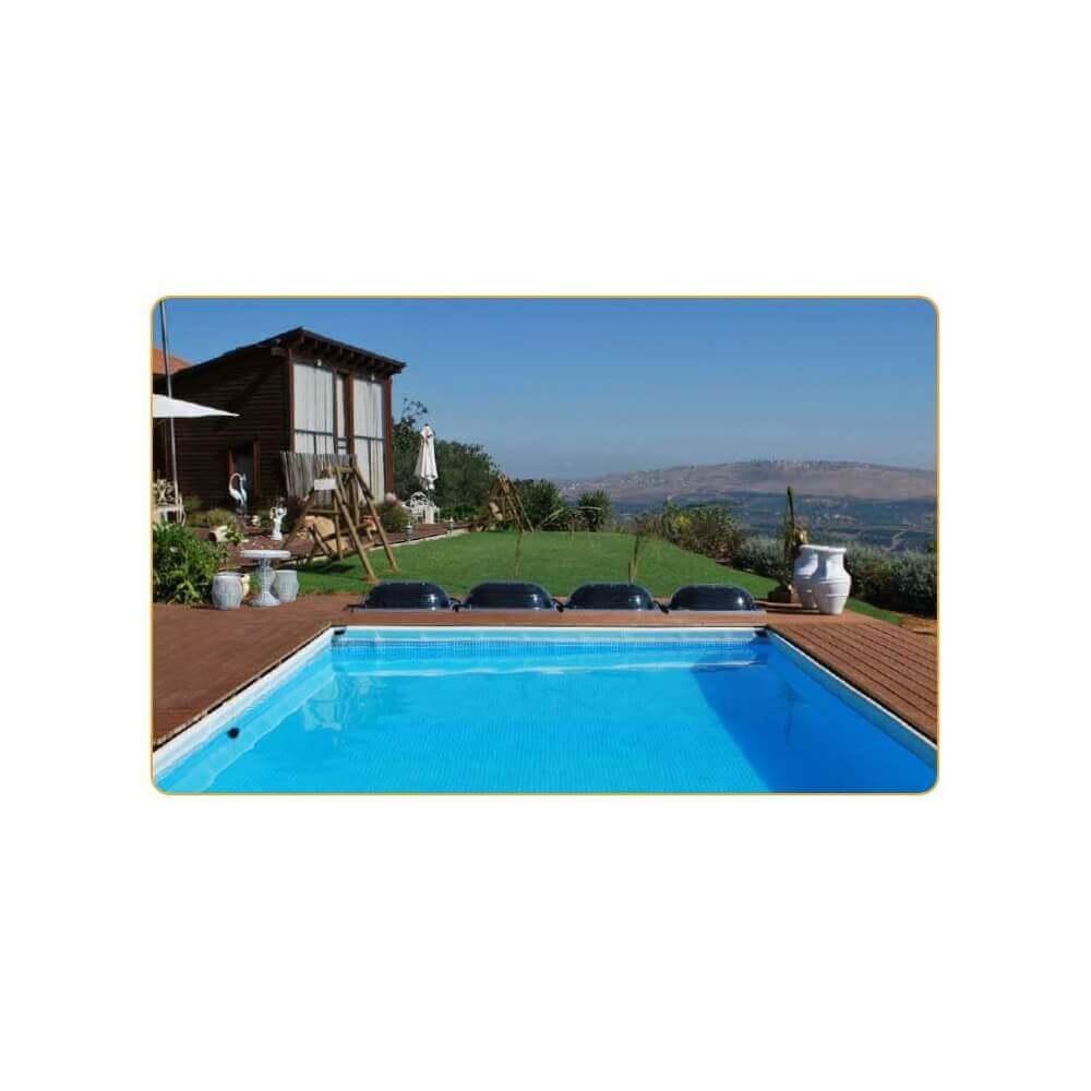 Chauffage solaire pour piscine d me solaire aquadome for Prix dome piscine