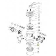 Pièce N°14 - Joint torique diffuseur pour groupe de filtration ACIS VIPool-Pièces détachées