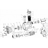 Corps de pompe - Pièce n°9 - ACIS VIPool MCB mono-Pièces détachées