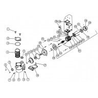 Couvercle de préfiltre - Pièce n°2 - Astralpool Europa-Pièces détachées