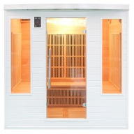 Sauna infrarouge Soleil Blanc CLUB - 4/5 places