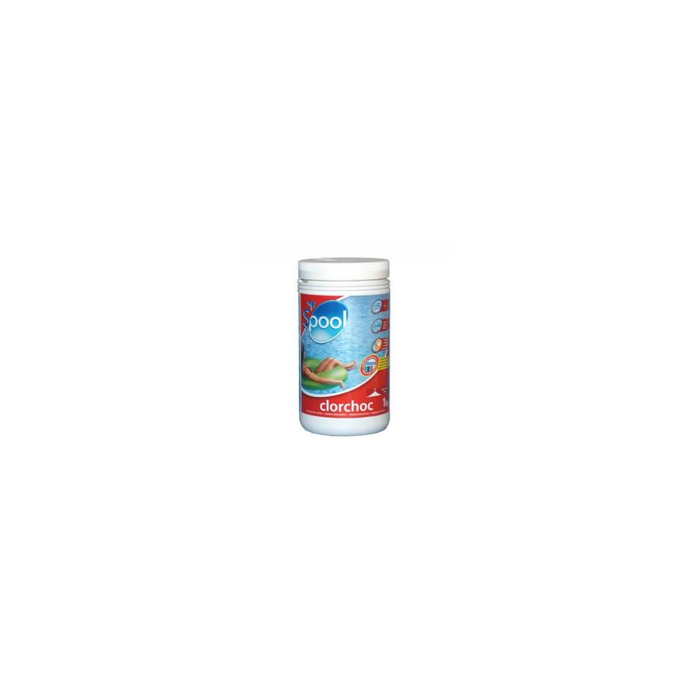 Chlore choc granul s 1 kg pour piscine mypiscine - Piscine laiteuse apres chlore choc ...