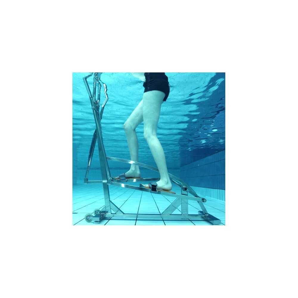 V lo elliptique aquatique waterflex elly pour piscine for Velo elliptique piscine