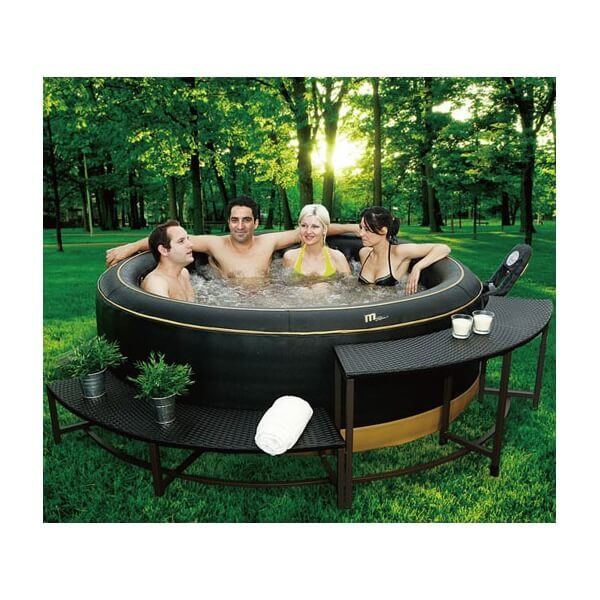 banc pour spa hors sol mspa mypiscine. Black Bedroom Furniture Sets. Home Design Ideas