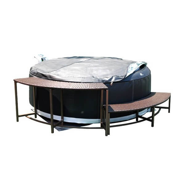 banc pour spa hors sol mspa mypiscine. Black Bedroom Furniture Sets. Home Design Ideas