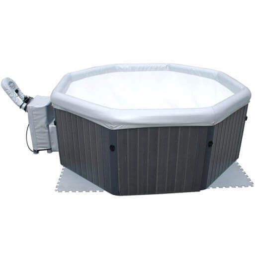 Spa portable mspa tuscany b160 4 places mypiscine for Spa rigide exterieur