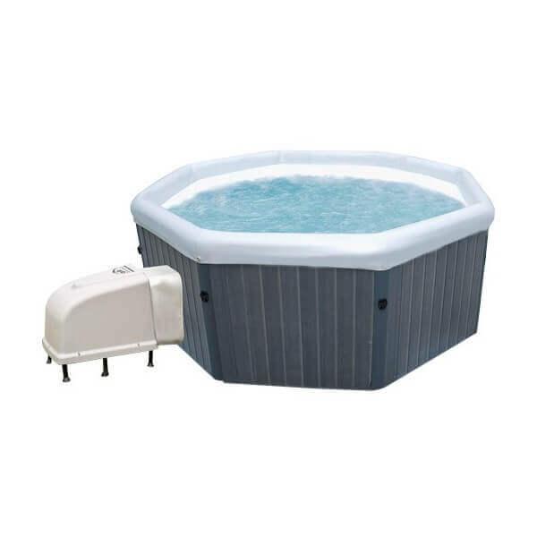 Spa portable hydro massant tuscany j170 6 places mypiscine for Piscine portable