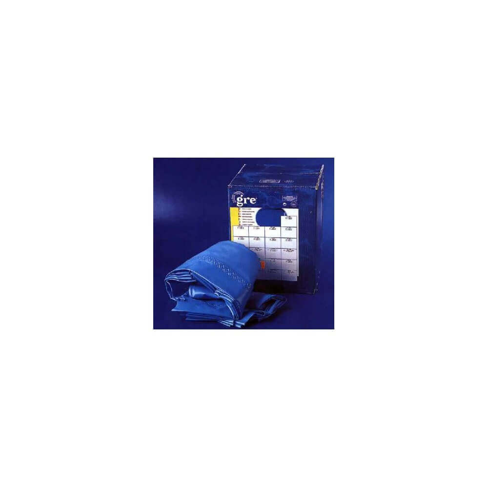 Liner bleu 20 100 pour piscine hors sol dreampool 450 h90 for Epaisseur liner piscine