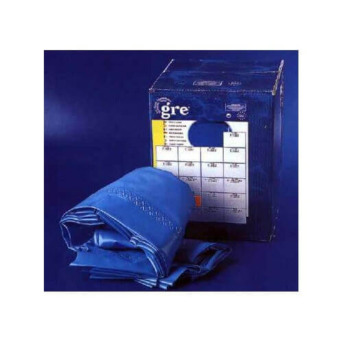 Liner bleu 20 100 pour piscine hors sol dreampool 350 h90 for Epaisseur liner piscine