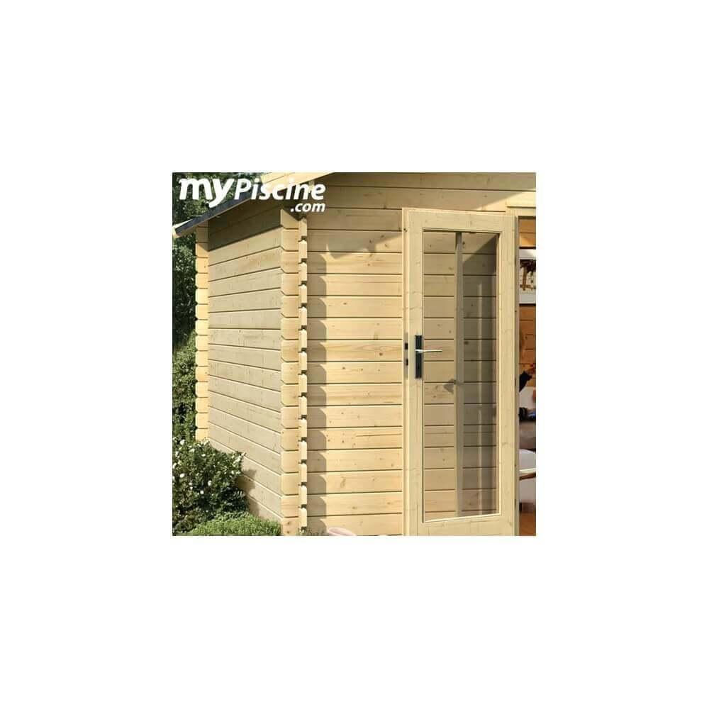 abri de jardin en bois karibu v rmland 2 mypiscine. Black Bedroom Furniture Sets. Home Design Ideas