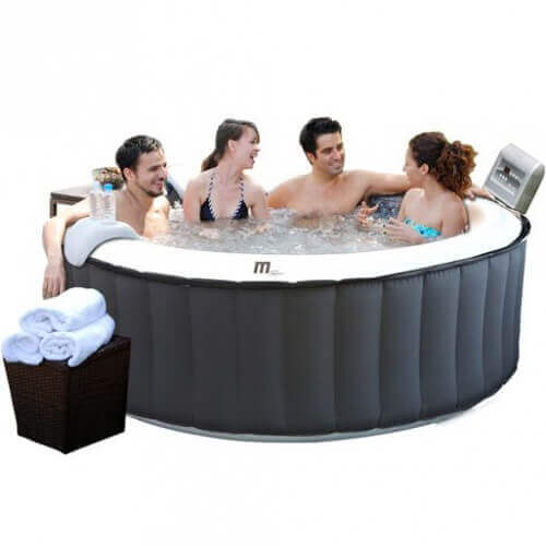 Spa gonflable Mspa Silver Cloud Lite SP-B110L 4 places - MyPiscine 4105cdb2b4cd
