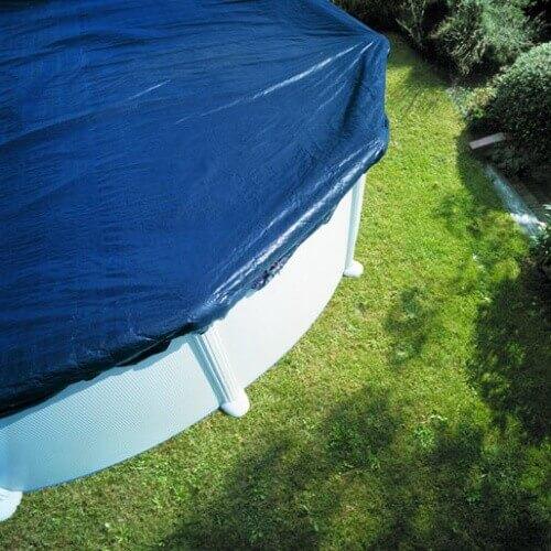 b che d 39 hivernage pour piscine hors sol ronde 550 cm gre. Black Bedroom Furniture Sets. Home Design Ideas