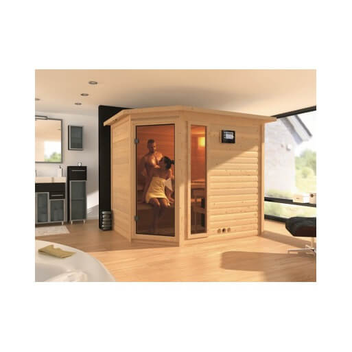 Sauna infrarouge tanami 6 places au meilleur prix chez - Kit sauna infrarouge ...