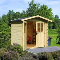 Abri de jardin en bois Karibu Plon