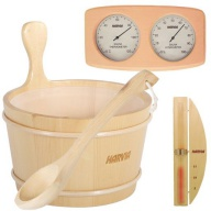 Pack d'accessoires en bois Harvia pour sauna