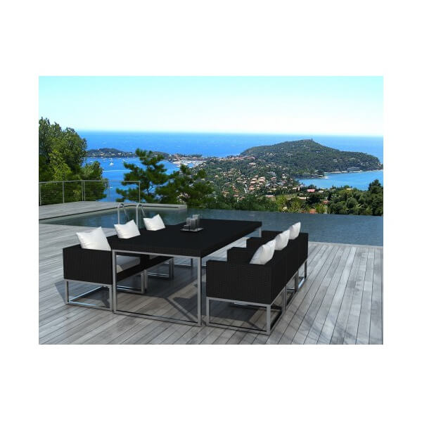 Table Et Chaises De Jardin Angel 6 Places