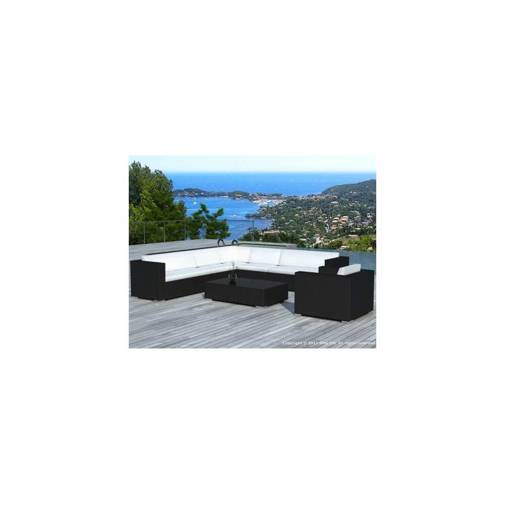Salon de jardin Monaco 8 places - MyPiscine