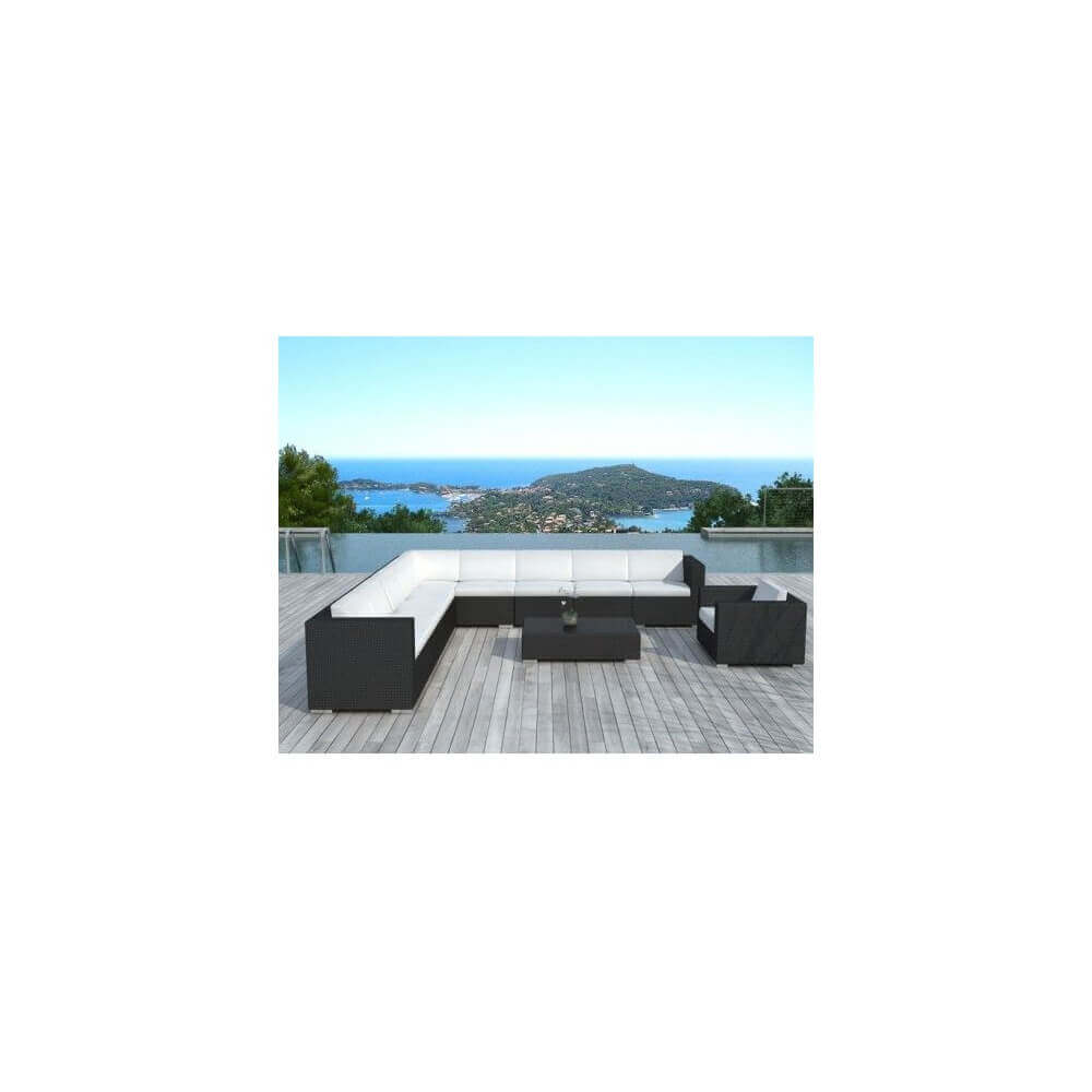 salon de jardin nice 10 places mypiscine. Black Bedroom Furniture Sets. Home Design Ideas
