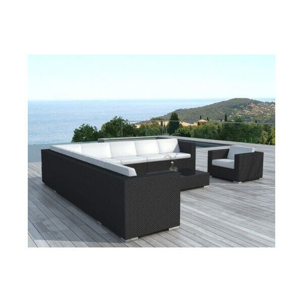 salon de jardin nice 10 places mypiscine. Black Bedroom Furniture Sets. Home Design Ideas