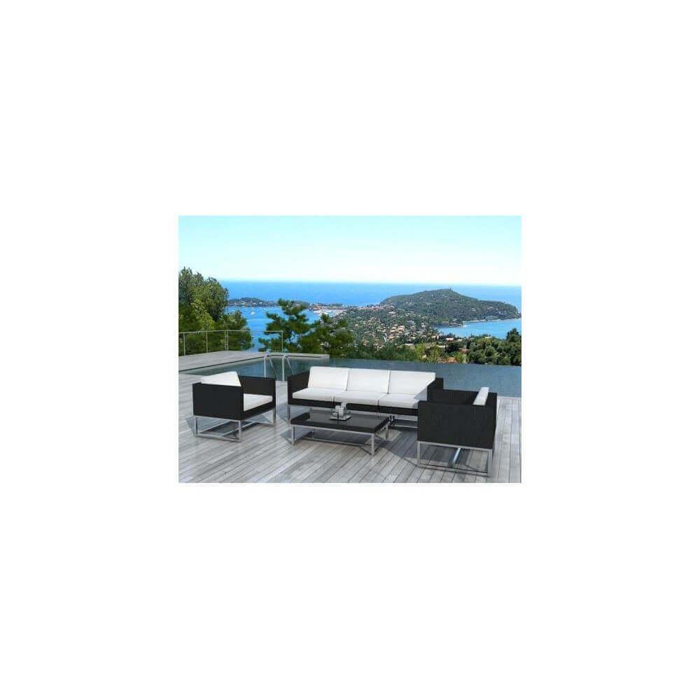 salon de jardin cuba 5 places mypiscine. Black Bedroom Furniture Sets. Home Design Ideas
