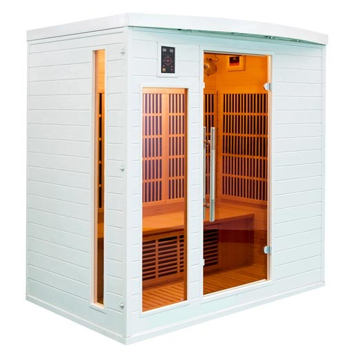 Le sauna l atout bien tre de votre hiver mypiscine blog - Sauna infrarouge utilisation ...